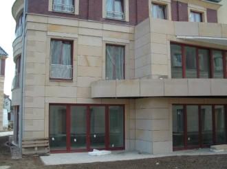 Privathaus, Deutmannsdorfer Sandstein