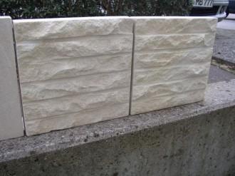 Hockenauer Sandstein, 40 mm gespalten, 10 mm gesägt