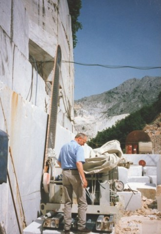 Steinbruch in Carrara