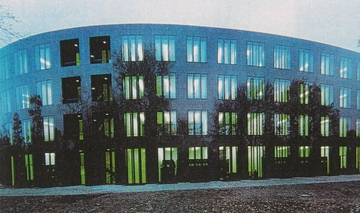 Bundespräsidialamt Berlin, Material: Nero Impala