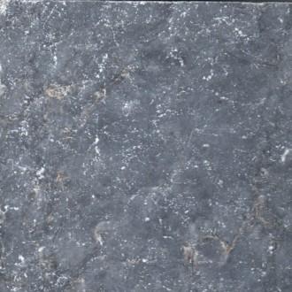 Kalkstein Blau/Schwarz, getrommelt