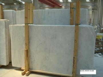Mugla-Royal White Marmor poliert