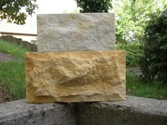 Deutmannsdorfer Sandstein hell + dunkel