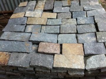 Wand- und Bodenplatten, Oberfläche naturspaltrauh