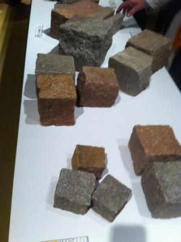 Pflastersteine in verschiedenen größen