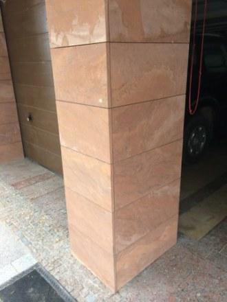 Tumlin Sandstein Pfeilerverkleidung