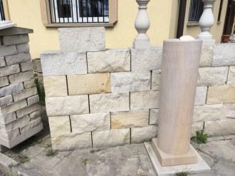 Sielec Sandstein, gespalten, 4 Seiten gesägt