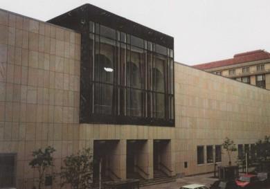 Berlin, Komische Oper, Elbsandstein